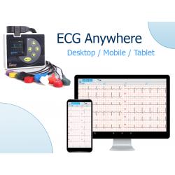 ECG Bluetooth numérisé Polyvalent compatible IOS, Android et Windows - Lizemed