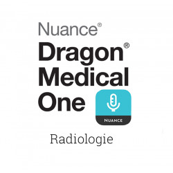 Logiciel de reconnaissance vocale pour smartphone Dragon Medical One Radiologie Lizemed