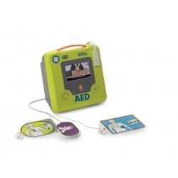 Défibrillateur Zoll AED 3 entièrement automatique avec Armoire Aivia 100