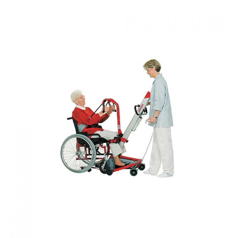 Exemple d'utilisation Verticalisateur Quick Raiser 1 - Personne âgée