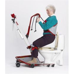 Verticalisateur Quick Raiser 1 - Utilisation pour aller aux toilettes