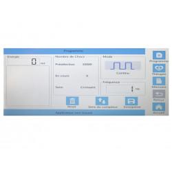 Exemple n°2 d'interface Ondes de choc NOVA SHOCK