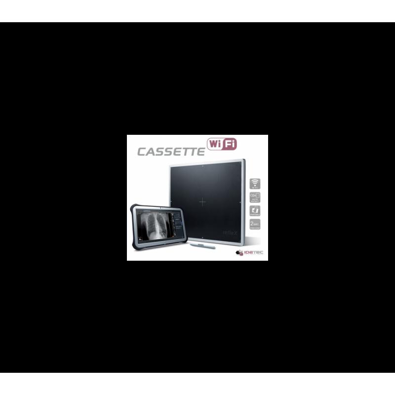 refleX - Capteur plan portable Wifi 43x43 - Fiche de présentation