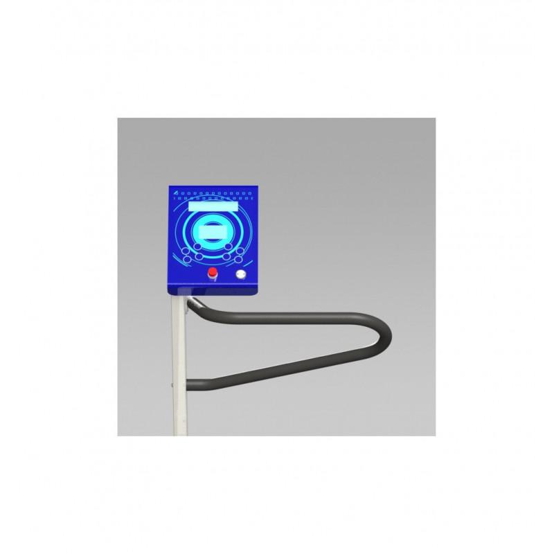 Tapis de marche thérapeutique Premium 270 - Exemple Interface