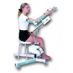 Arthromoteur - Atelle motorisée Kinetec 6080 - Exemple d'utilisation avec bras fléchi