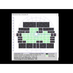Appareil de champ visuel - Exemple d'interface MONCV3 n°3