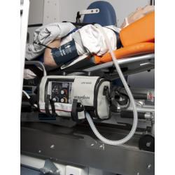 Ventilateur de secours MEDUMAT Standard a - Exemple d'utilisation dans une ambulance