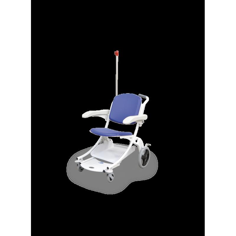 Chaise de transfert I-MOVE bleue