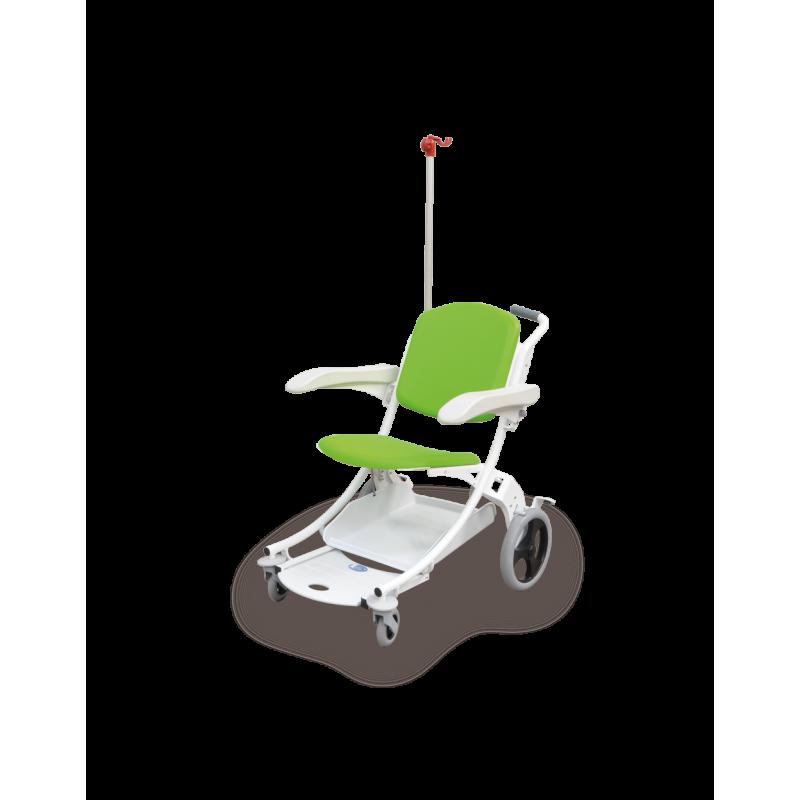 Chaise de transfert I-MOVE verte