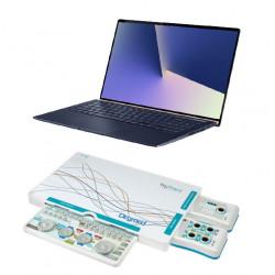 Electromyographe portable connecté à un ordinateur