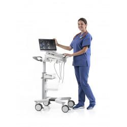 Mylab Sigma transportée - Exemple d'utilisation par une infirmière