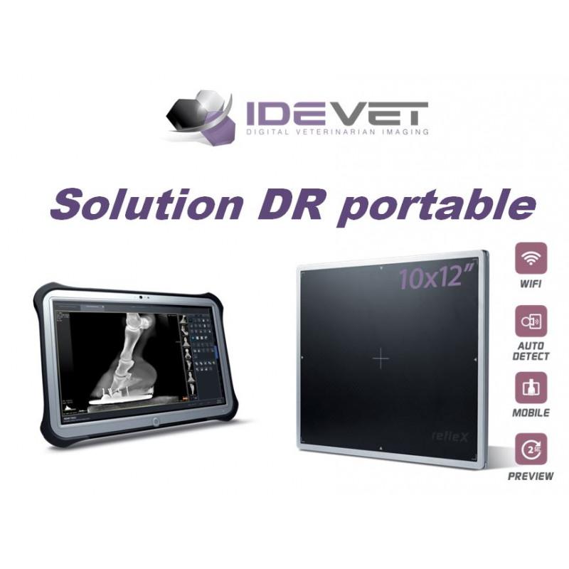 refleX - Capteur plan portable Wifi 24x30 CWC 10122 - Radiologie équine