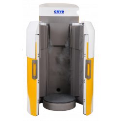 Cabine de Cryothérapie Azote - CRYOMUST ouverte