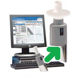 Spiromètre 100% connecté PC Vyaire Lizemed