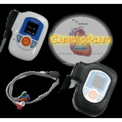 Pack de 2 Holter ECG DMS 300-4L avec logiciel de lecture Cardioscan 11 Lizemed