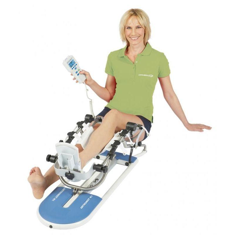 utilisation Attelle motorisée hanche et genou ARTROMOT K1 Classic Lizemed
